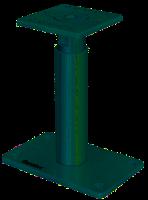 Pfostenträger, PediX 190 + 100 mm 190 bis 290 mm Stützenfuß