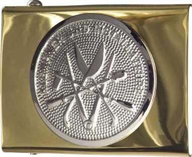 Koppelschloss mit KLEMPNER-Emblem, JOB