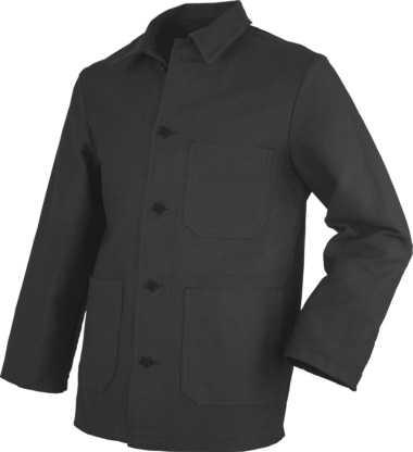 Arbeitsjacke aus Doppel-Pilot schwarz, JOB