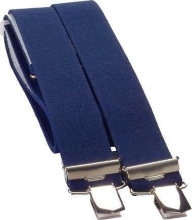 4-Clip Hosenträger blau, JOB