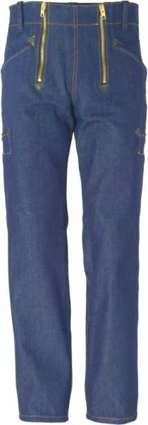 Zunft-Jeans blau gerade Form, JOB