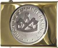 Koppelschloss mit ZIMMERER-Emblem, JOB