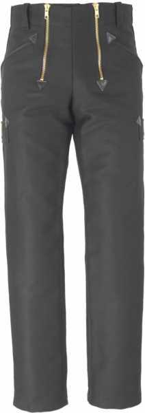 JOB-Zunfthose aus Doppel-Pilot schwarz gerade Form